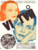 Vi två 1939 movie poster Signe Hasso