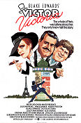 Victor Victoria 1982 poster Julie Andrews Blake Edwards