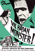 Munster Go Home 1967 Movie poster Fred Gwynne