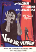 Wild is the Wind 1958 Movie poster Anna Magnani George Cukor