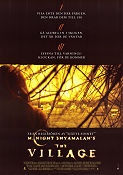 The Village 2003 poster Sigourney Weaver M Night Shyamalan