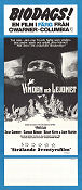 The Wind and the Lion 1975 poster Sean Connery John Milius