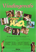Vindingevals 1968 Movie poster Erik Hell �ke Falck