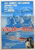 Malta Story 1954 poster Alec Guinness
