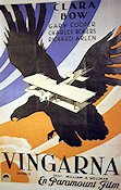 Wings 1929 poster Clara Bow William A Wellman