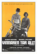 Little Fauss and Big Halsy 1970 poster Robert Redford Sidney J Furie
