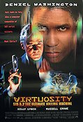 Virtuosity 1995 Movie poster Denzel Washington