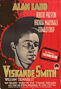 Whispering Smith 1948 Movie poster Alan Ladd