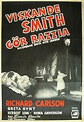 Whispering Smith Hits London 1952 poster Richard Carlson