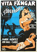 White Savage 1943 Movie poster Maria Montez