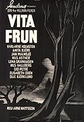 Vita frun 1961 Movie poster Karl-Arne Holmsten Arne Mattsson