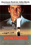 Witness 1985 Movie poster Harrison Ford