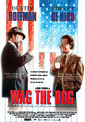 Wag the Dog 1997 poster Dustin Hoffman Barry Levinson