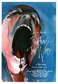 The Wall 1982 Movie poster Pink Floyd Alan Parker