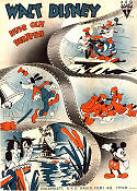 Walt Disney Draws and Tells 1937 Movie poster Goofy