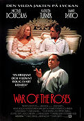 The War of the Roses 1989 Movie poster Michael Douglas
