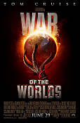 War of the Worlds 2005 Movie poster Tom Cruise Steven Spielberg