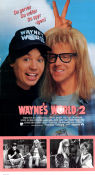 Wayne´s World 2 1993 poster Mike Myers Stephen Surjik
