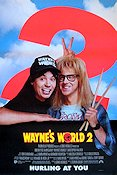 Wayne's World 2 1994 poster Mike Myers