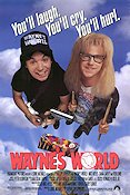 Wayne´s World 1992 poster Mike Myers