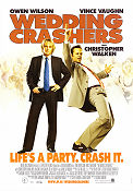 Wedding Crashers 2005 Movie poster Owen Wilson