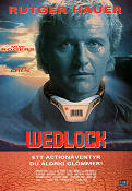 Wedlock 1991 Movie poster Rutger Hauer Lewis Teague