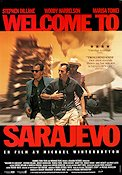 Welcome to Sarajevo 1997 Movie poster Stephen Dillane Michael Winterbottom