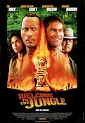 Welcome to the Jungle 2003 Movie poster The Rock