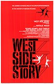 West Side Story 1962 Movie poster Natalie Wood