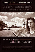 What's Eating Gilbert Grape 1993 Movie poster Johnny Depp Lasse Hallstr�m
