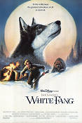 White Fang 1988 Movie poster Klaus Maria Brandauer