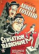 Who Done It (1949) Movie poster 62x84cm Denmark Abbott and Costello