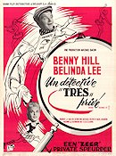 Who Done It 1956 Movie poster Benny Hill