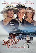 Widows Peak 1995 Movie poster Mia Farrow