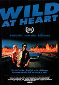 Wild At Heart 1990 poster Nicolas Cage David Lynch