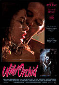 Wild Orchid 1990 Movie poster Mickey Rourke Zalman King