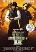 Wild Wild West 1999 Movie poster Will Smith