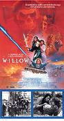 Willow 1988 Movie poster Val Kilmer Ron Howard