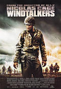 Windtalkers 2002 Movie poster Nicolas Cage John Woo