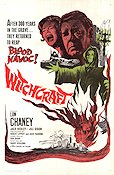Witchcraft 1964 Movie poster Lon Chaney