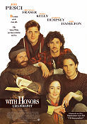 With Honors 1994 Movie poster Joe Pesci