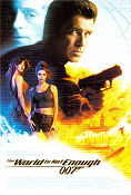 The World is Not Enough 1999 poster Pierce Brosnan