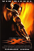 XXX 2002 Movie poster Vin Diesel