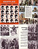 A Hard Day's Night 1964 program Beatles Richard Lester