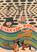 Yellow Submarine 1968 poster Beatles George Dunning