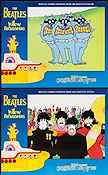 Yellow Submarine 1968 Lobby card set Beatles