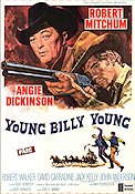 Young Billy Young 1969 Movie poster Robert Mitchum