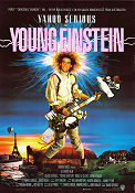 Young Einstein 1988 poster Odile Le Clezio Yahoo Serious