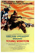 Young Winston 1972 Movie poster Simon Ward Richard Attenborough