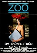 Z00 1985 Movie poster Andrea Ferreol Peter Greenaway